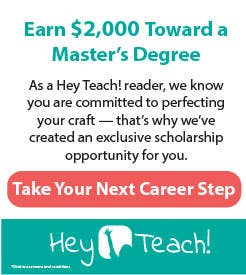 Teachers College Master's Degree Scholarships
