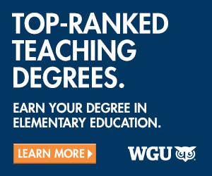 Teaching degrees in Elementary Education