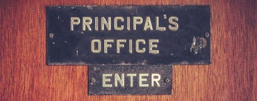 Building a relationship with your principal