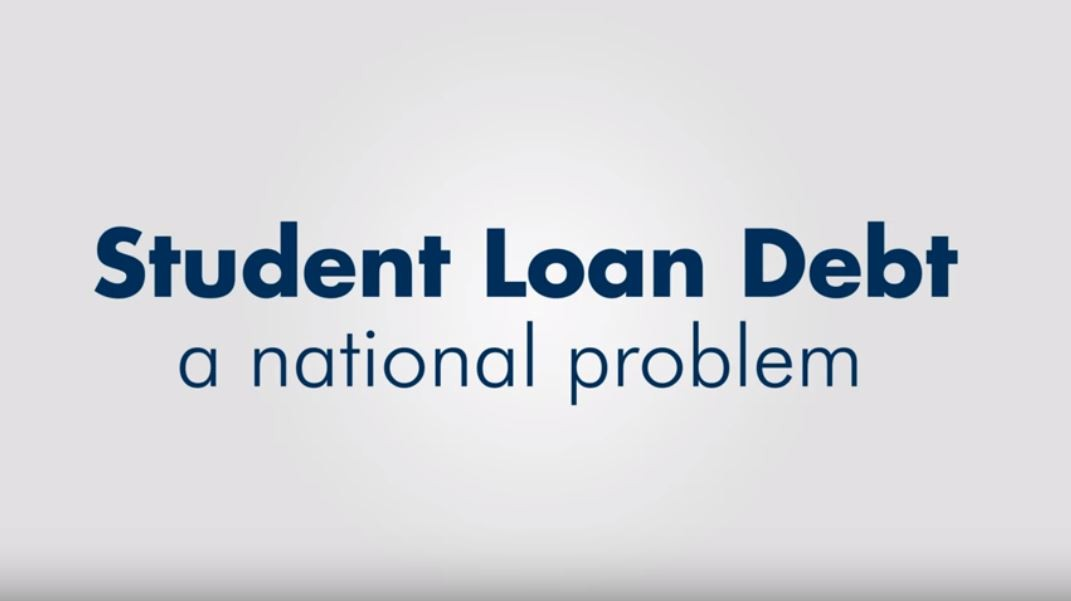 Student loan debt national issue