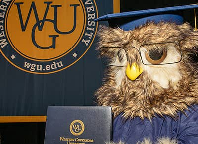 Sage has a masters in owlology from WGU