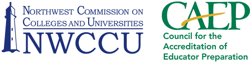 NCATE Accredited Programs and NWCCU university accreditation