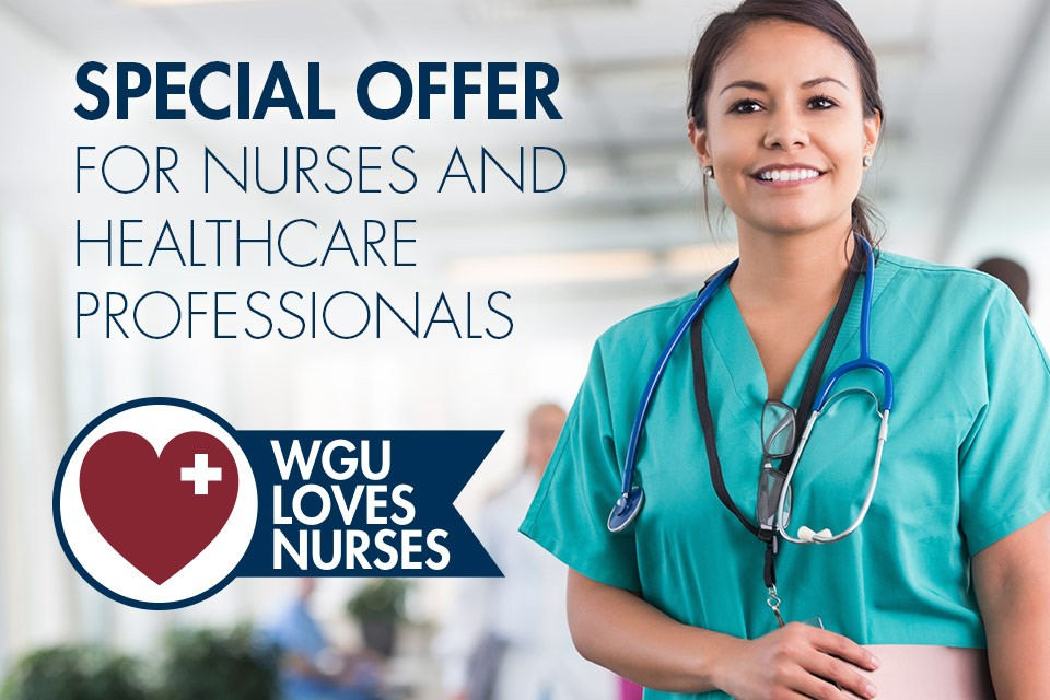 Special scholarship offer for National Nurses Appreciation day