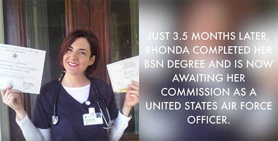 Rhonda (WGU grad) combines a drive to serve and care through military healthcare.